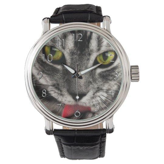 Cat Lick Watch