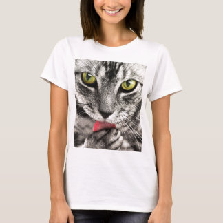Cat Licks T-Shirt