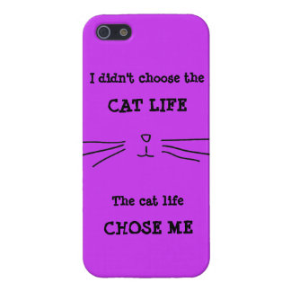 """CAT LIFE"" iPhone Case Case For iPhone 5/5S"