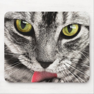 Cat Look Mouse Pad