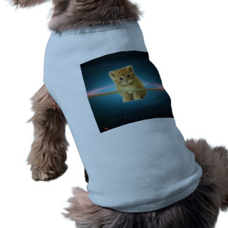 Cat lost in space pet clothes