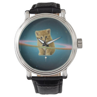 Cat lost in space wristwatches