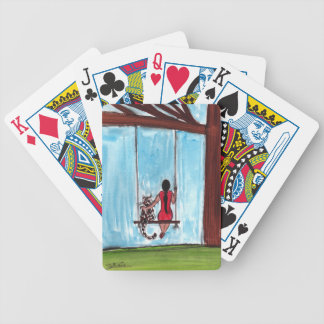 Cat Love Bicycle Playing Cards
