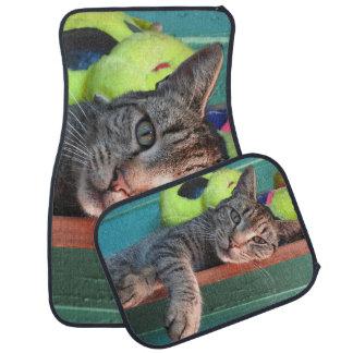Cat Love Car Mat