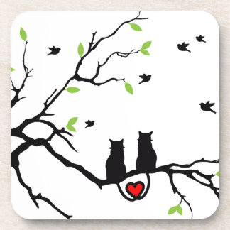 Cat Love Coaster