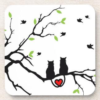 Cat Love Coasters