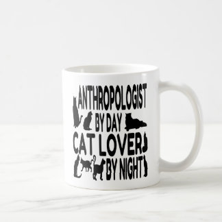 Cat Lover Anthropologist Coffee Mug