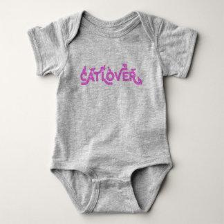 Cat Lover Baby Romper