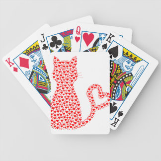 Cat Lover Bicycle Playing Cards