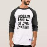 Cat Lover Bodybuilder Tshirts