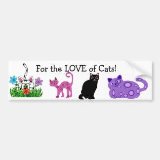 Cat Lover Bumper sticker