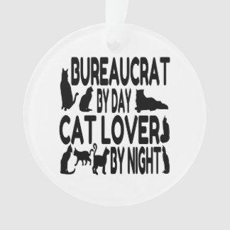 Cat Lover Bureaucrat Ornament