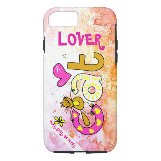 Cat Lover Cartoon Fun Photo Phone Case