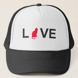 Cat lover clothing trucker hat