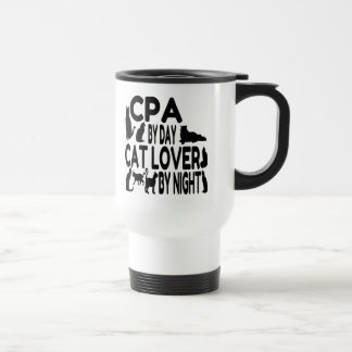 Cat Lover CPA Travel Mug