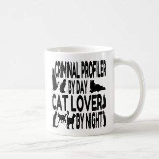 Cat Lover Criminal Profiler Coffee Mug