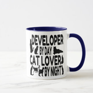 Cat Lover Developer Mug