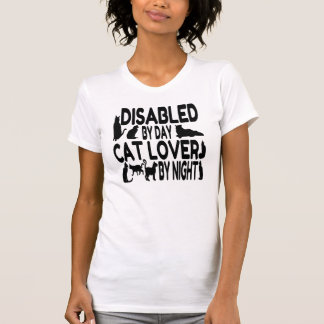 Cat Lover Disabled T-Shirt