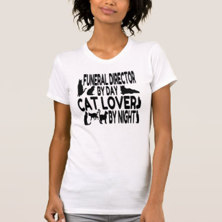 Cat Lover Funeral Director T-Shirt