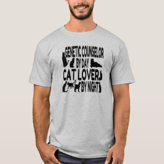 Cat Lover Genetic Counselor T-Shirt