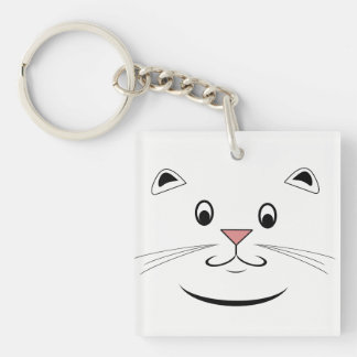 Cat Lover Gifts Keychain