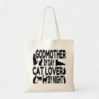 Cat Lover Godmother Tote Bag