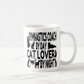 Cat Lover Gymnastics Coach Coffee Mug