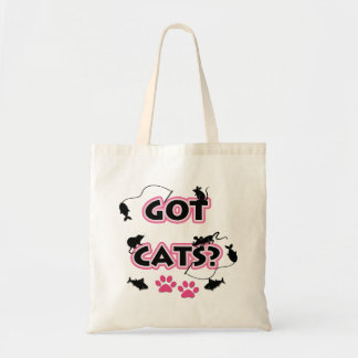Cat Lover Humor in Pink and Black