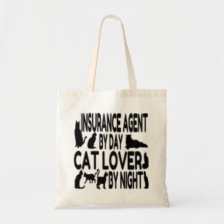 Cat Lover Insurance Agent Tote Bag