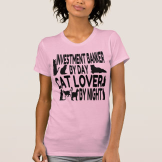 Cat Lover Investment Banker T-Shirt