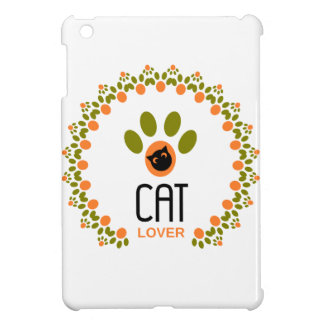 cat lover iPad mini case