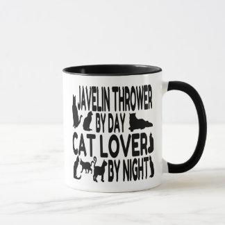 Cat Lover Javelin Thrower Mug