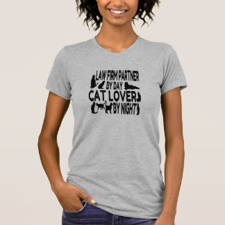 Cat Lover Law Firm Partner T-Shirt
