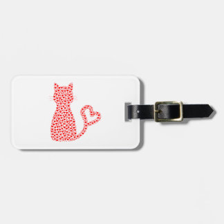 Cat Lover Luggage Tag