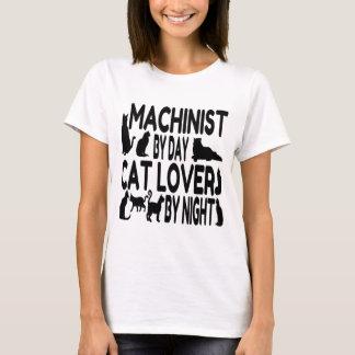 Cat Lover Machinist T-Shirt