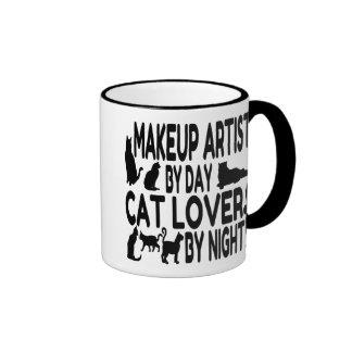 Cat Lover Makeup Artist Mugs