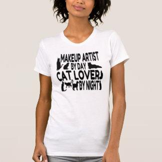 Cat Lover Makeup Artist T-Shirt