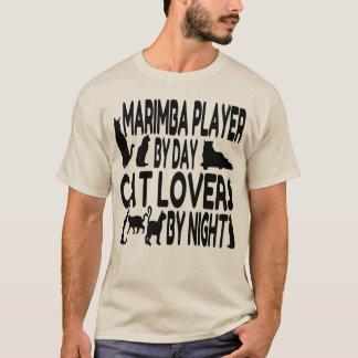 Cat Lover Marimba Player T-Shirt