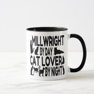 Cat Lover Millwright Mug