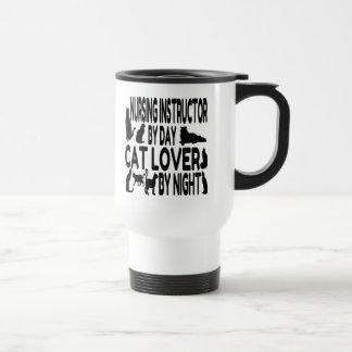 Cat Lover Nursing Instructor Travel Mug