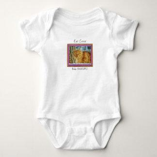 Cat Lover Orange Cat - Baby HAMbWG - T-Shirt