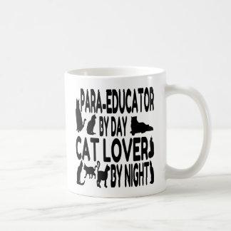 Cat Lover Para Educator Coffee Mug
