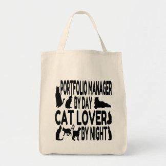 Cat Lover Portfolio Manager Tote Bag