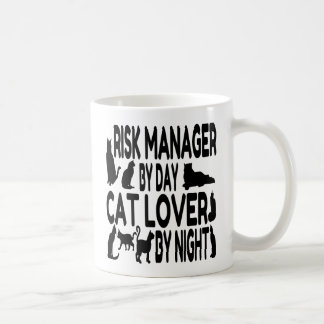 Cat Lover Risk Manager Coffee Mug