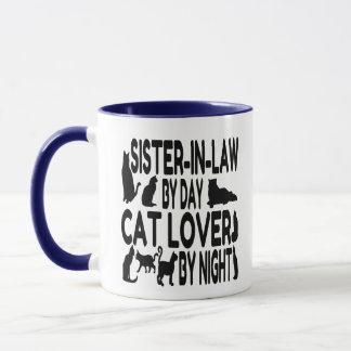 Cat Lover Sister-in-Law Mug