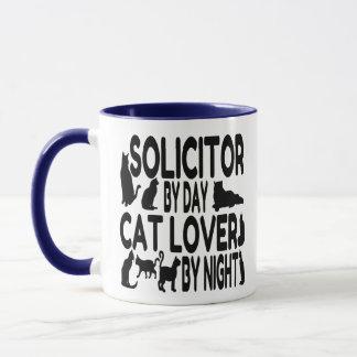 Cat Lover Solicitor Mug