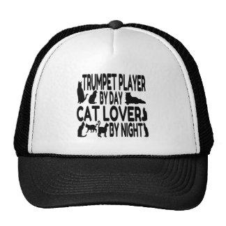 Cat Lover Trumpet Player Trucker Hat