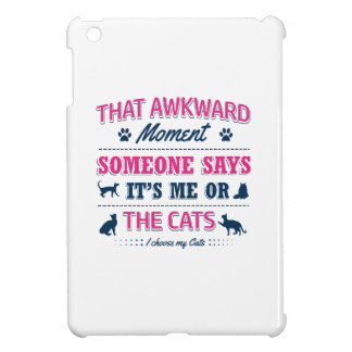 Cat lover tshirts cover for the iPad mini