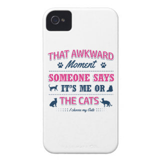 Cat lover tshirts iPhone 4 Case-Mate case