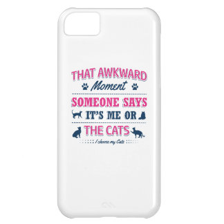 Cat lover tshirts iPhone 5C covers